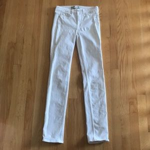 Abercrombie & Fitch White Jeans